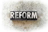 Reform — Stock Photo