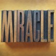 Miracle — Stock Photo