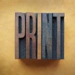 impresión — Foto de Stock