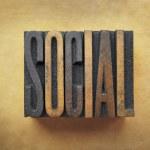 Social — Stock Photo