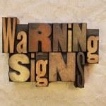 Warning Signs — Stock Photo #37326621