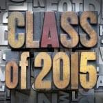 Class of 2015 — Stock Photo #38274129