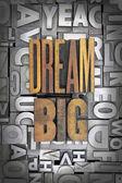 Wielkie marzenia — Zdjęcie stockowe
