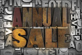 Annual Sale — Stock Photo