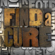 Stock Photo: Find Cure