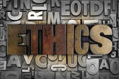 Ethics — Stock Photo