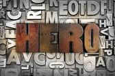 Hero — Stock Photo