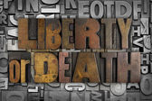 Liberty or Death — Stock Photo