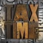 Tax TIme — Stock Photo #41829791