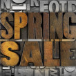 Spring Sale — Stock Photo