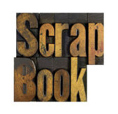 Scrap Book — Stock Photo