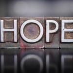 Hope Letterpress — Stock Photo #49096853