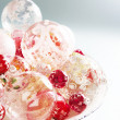 Mountain of quality glass Christmas balls — Stock Photo #22106775