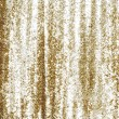 Full frame gold sequins curtain background texture. - Stock Photo