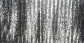 Full frame silver sequins curtain background texture. — Stock Photo