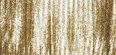 Full frame gold sequins curtain background texture. — Stock Photo