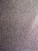 Full frame silver glitter background texture. — Stock Photo