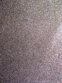Full frame silver glitter background texture. — Stock Photo