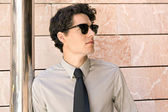 модные бизнесмен — Стоковое фото