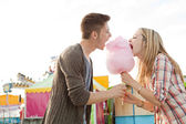 Young fun couple — Stock Photo