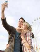 Young couple posing together — Stock Photo