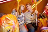 Couple having fun — Fotografia Stock