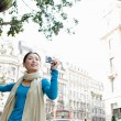Japanese tourist woman — Stock Photo