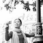 Japanese tourist woman — Stock Photo #44205385