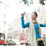 Japanese tourist woman — Stock Photo #44205611