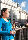 Japanese tourist woman — Stock Photo