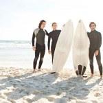 Surfers men standing — Stock Photo #45812613