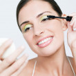 Young woman make up — Stock Photo