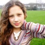 Beautiful young girl — Stock Photo #46730661