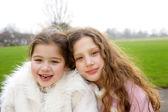 Girl children sisters — Stock Photo