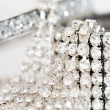 Luxurious diamond bracelets — Stock Photo