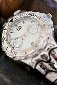 Quality waterproof watch — Stock Photo