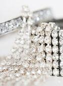 Bracciali di diamanti di lusso — Foto Stock