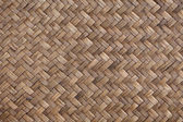 Golden woven basket — Stock Photo