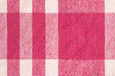 Patterned cotton kitchen cloth — Stock Photo