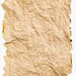 Foto de Stock  : Burned paper with crumpled