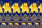 Close up elephant decorative pattern — Stock Photo