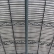 Stock Photo: Metal roof structure