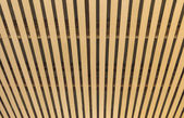 Wooden lath pattern — Stock Photo