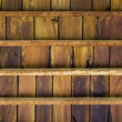 Stock Photo: Teak wood ceiling