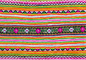 Colorful fabric pattern — Stok fotoğraf