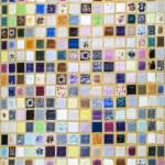 Ceramic tiles patterns — Stock Photo