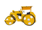 Ancient road roller — Stock Photo