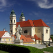 Stock Photo: Valtice castle - church
