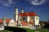 Valtice castle - church — Stock Photo