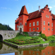Stock Photo: Noted red castle Cervenlhota